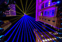 Geometric Lights at Martin Place