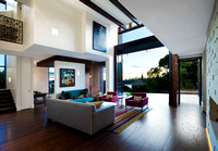Interior Residential Dusk Architecture
