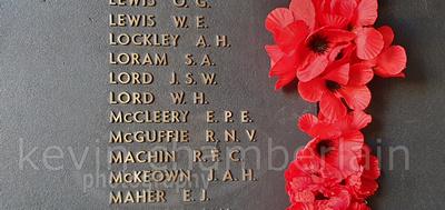 """Australian War Memorial"", AWM, ""Last Post Ceremony"", Lord, ""William Lord"""