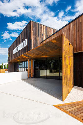 Entry to Brokenwood Cellar Door and Tasting Rooms