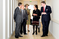 Marie Bashir Tours the Hills Clinic at Opening Event