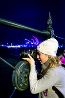 Photographer Enjoying at Vivid