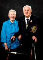 Portrait Photography of WW2 Veteran with Family