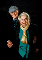 Portrait Photography of World War Two Veteran with his Wife