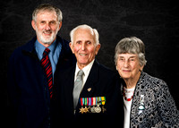 Portrait Photography of WW2 Vet and Family