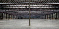 Sydney architectural photographer photographs the interior lighting system in the Grace Records Warehouse