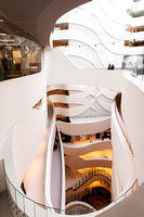 Architectural Photography of the Melbourne Cancer Centre Internal Staircase