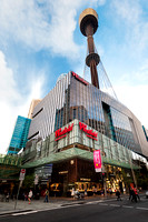 Exterior Architectural Photography of the Sydney Centrepoint Westfield