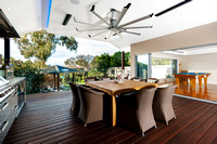 Architectural Photography of Al Fresco Dining Area