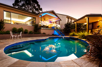 Architectural Photography of Pool and Cabana
