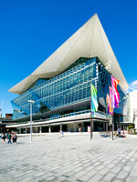 Exterior Architectural Photography of the New ICC Sydney