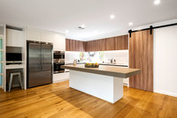 Sydney architectural photographer photographs new kitchen for HW Barnwell Builders