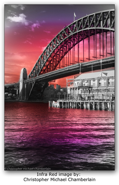 """Infra Red"",  Sydney Harbour Bridge"