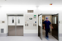 Architectural Photography of Corian Cladding in New Surgical Operating Theater