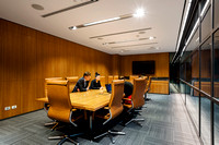 Architectural photographer photographs the Interior Architectural and Commercial photography of Data Storage Centre's company meeting room