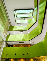 Sydney commercial architectural photographer photographs the interiors of the NSW University Cancer Laboratory for Cubic Interiors