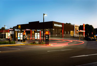 Exterior Architectural Photography of New McDonalds Restaurant