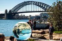 Sculpture Photography with Sydney Harbour Bridge