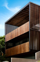 Exterior Photography of Timber Balconies