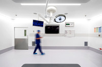 Commercial Architectural Photography of St Vincents Hospital Operating Theater