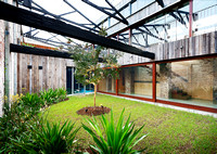 Internal Garden in Warehouse Conversion